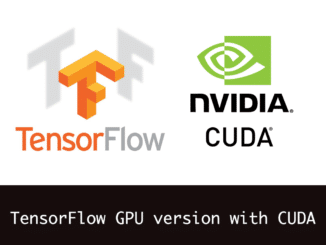 Install GPU version of Tensorflow