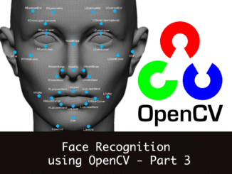 face recognition using opencv 3