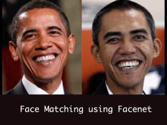 face matching using facenet