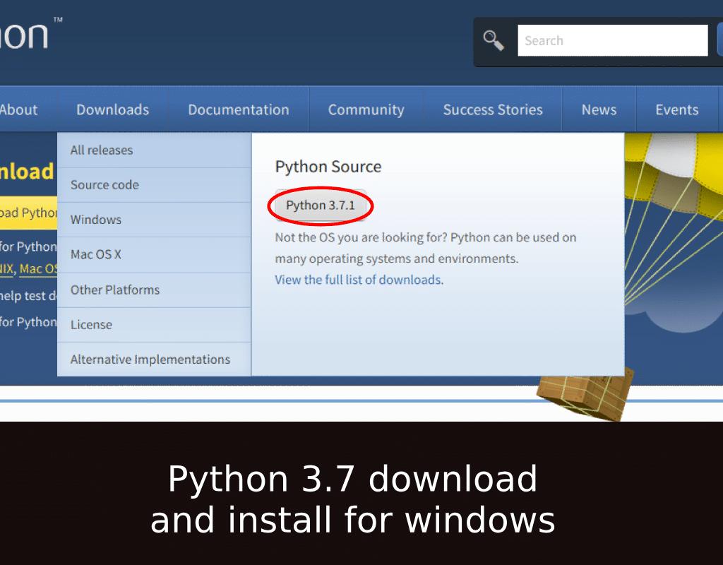 Python 3 7 download and install for windows | pytorials com