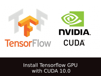How to install Tensorflow GPU with CUDA 10.0 for python on Ubuntu