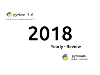 Yearly review - 2018